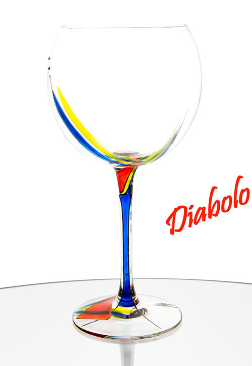 Modèle de la collection Diabolo